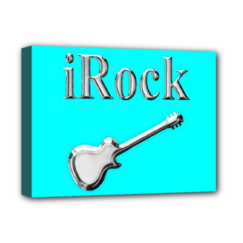 Irock Deluxe Canvas 16  X 12  (framed)