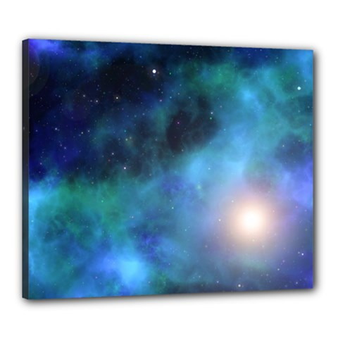 Amazing Universe Canvas 24  X 20  (framed)