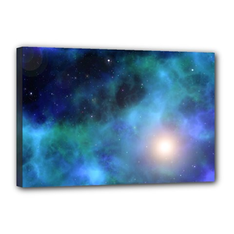 Amazing Universe Canvas 18  x 12  (Framed)