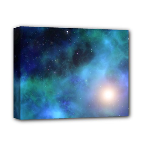 Amazing Universe Deluxe Canvas 14  X 11  (framed)
