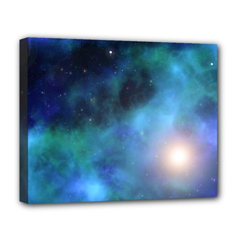 Amazing Universe Deluxe Canvas 20  X 16  (framed)
