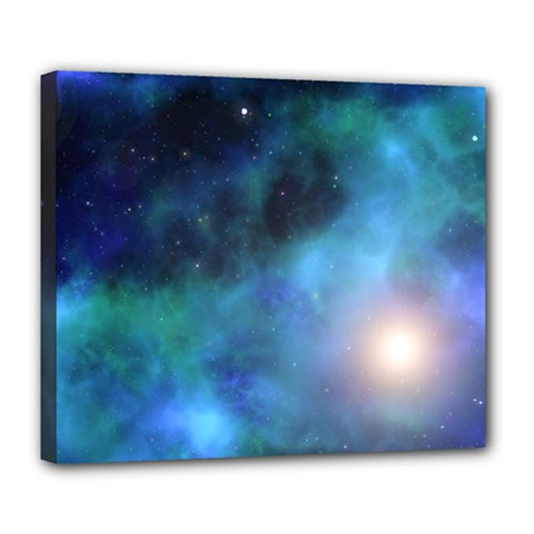 Amazing Universe Deluxe Canvas 24  X 20  (framed)