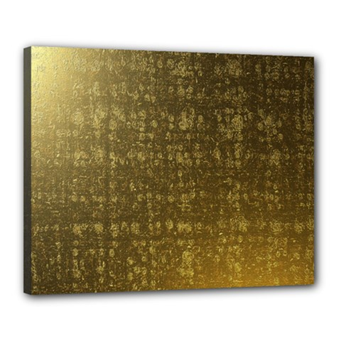 Gold Canvas 20  X 16  (framed)