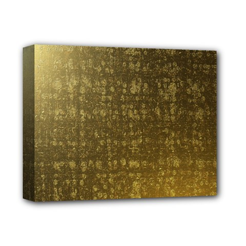 Gold Deluxe Canvas 14  X 11  (framed)