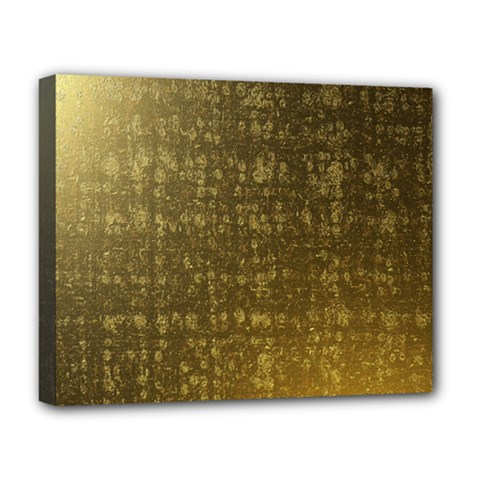 Gold Deluxe Canvas 20  X 16  (framed)