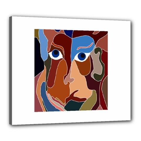 Abstract God Canvas 24  x 20  (Framed)