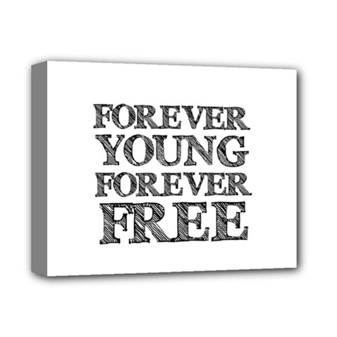 Forever Young Deluxe Canvas 14  x 11  (Framed)