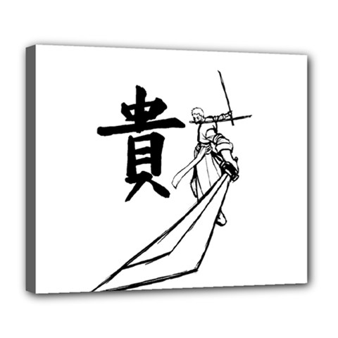 A Swordsman s Honor Deluxe Canvas 24  X 20  (framed)