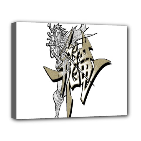The Flying Dragon Deluxe Canvas 20  X 16  (framed)