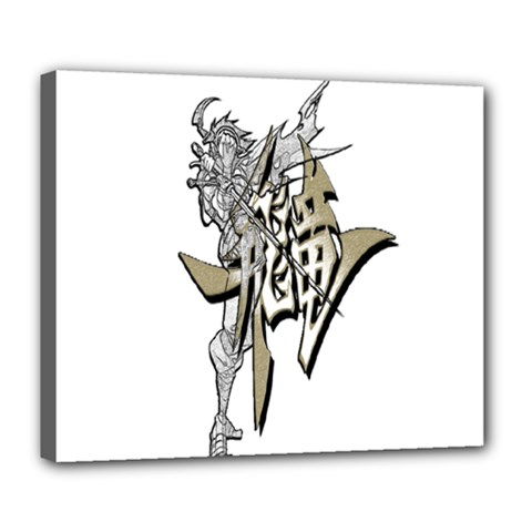 The Flying Dragon Deluxe Canvas 24  X 20  (framed)