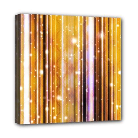 Luxury Party Dreams Futuristic Abstract Design Mini Canvas 8  x 8  (Framed)