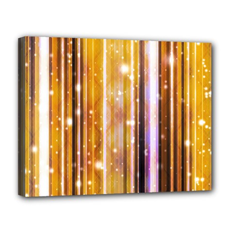 Luxury Party Dreams Futuristic Abstract Design Canvas 14  x 11  (Framed)