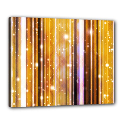 Luxury Party Dreams Futuristic Abstract Design Canvas 20  x 16  (Framed)