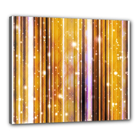 Luxury Party Dreams Futuristic Abstract Design Canvas 24  x 20  (Framed)