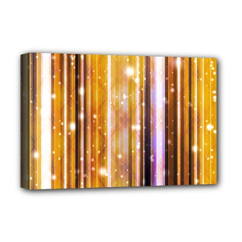 Luxury Party Dreams Futuristic Abstract Design Deluxe Canvas 18  X 12  (framed)