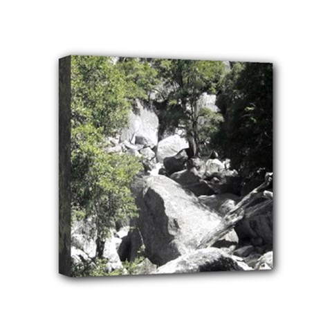 Yosemite National Park Mini Canvas 4  X 4  (stretched)
