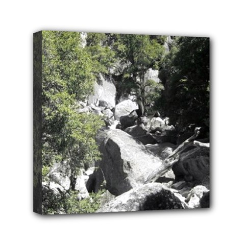 Yosemite National Park Mini Canvas 6  X 6  (stretched)