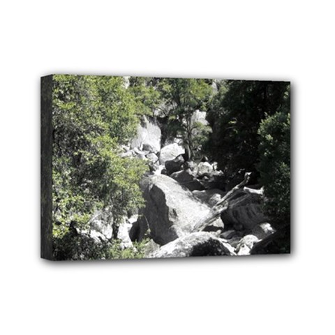 Yosemite National Park Mini Canvas 7  X 5  (stretched)