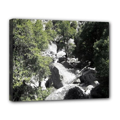 Yosemite National Park Canvas 14  x 11  (Stretched)