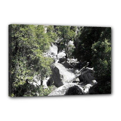 Yosemite National Park Canvas 18  X 12  (stretched)