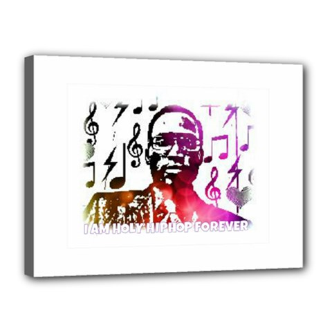 Iamholyhiphopforever 11 Yea Mgclothingstore2 Jpg Canvas 16  x 12  (Framed)