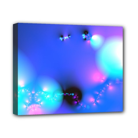 Love In Action, Pink, Purple, Blue Heartbeat 10000x7500 Canvas 10  X 8  (framed)