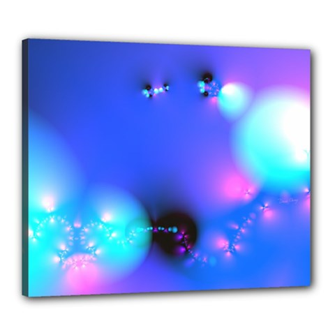 Love In Action, Pink, Purple, Blue Heartbeat 10000x7500 Canvas 24  X 20  (framed)