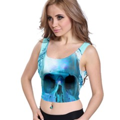 Skull In Water Full All Over Print Crop Top