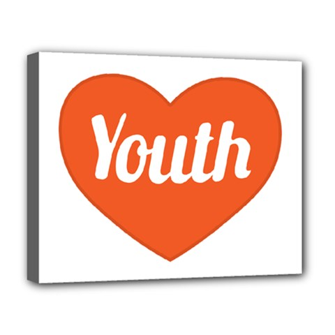 Youth Concept Design 01 Deluxe Canvas 20  x 16  (Framed)