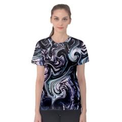 L160 Women s Full All Over Print Sport T Shirt