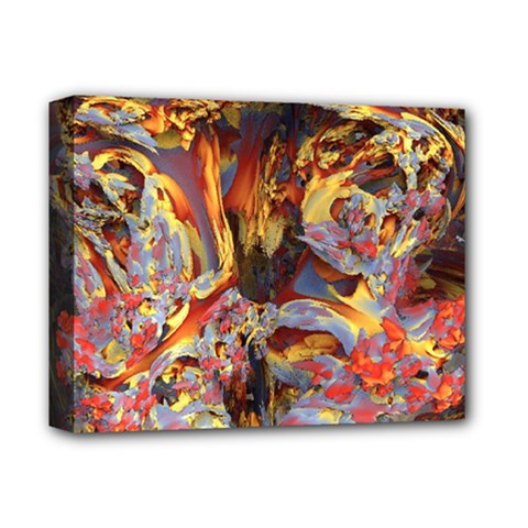 Abstract 4 Deluxe Canvas 14  X 11  (framed)