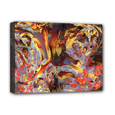 Abstract 4 Deluxe Canvas 16  X 12  (framed)