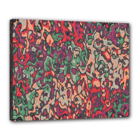 Color Mix Canvas 20  X 16  (stretched)