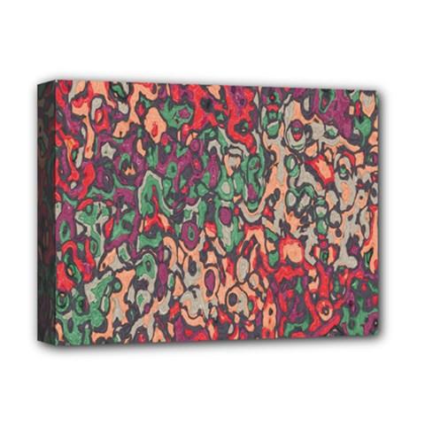 Color Mix Deluxe Canvas 16  X 12  (stretched)