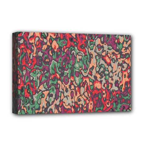 Color Mix Deluxe Canvas 18  X 12  (stretched)