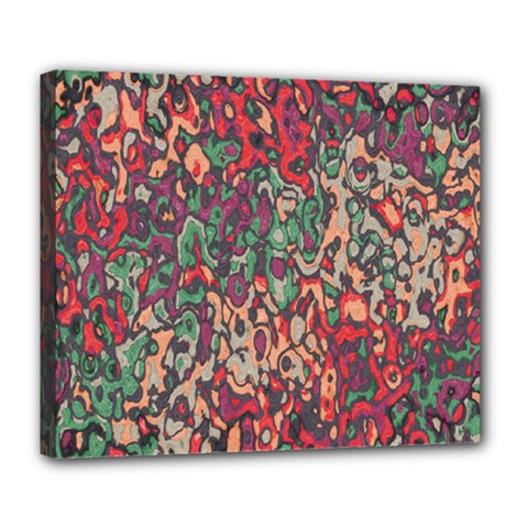 Color Mix Deluxe Canvas 24  X 20  (stretched)