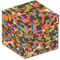 Colorful pixels Storage Stool 12