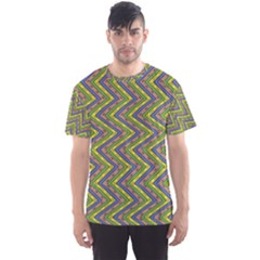 Zig zag pattern Men s Full All Over Print Sport T-shirt