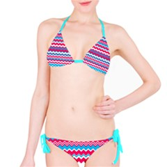 Waves pattern Full Set Bikini
