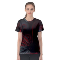 L318 Women s Full All Over Print Sport T Shirt