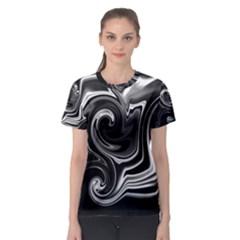 L413 Women s Full All Over Print Sport T-shirt