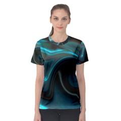 L214 Women s Full All Over Print Sport T-shirt