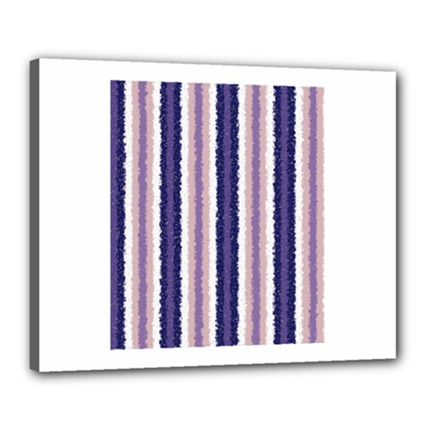 Native American Curly Stripes - 2 Canvas 20  x 16  (Framed)