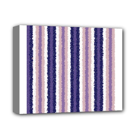Native American Curly Stripes   2 Deluxe Canvas 14  X 11  (framed)