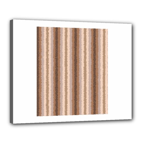 Native American Curly Stripes - 3 Canvas 20  x 16  (Framed)