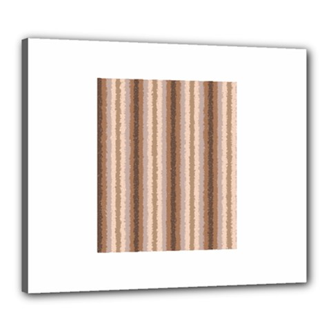 Native American Curly Stripes   3 Canvas 24  X 20  (framed)