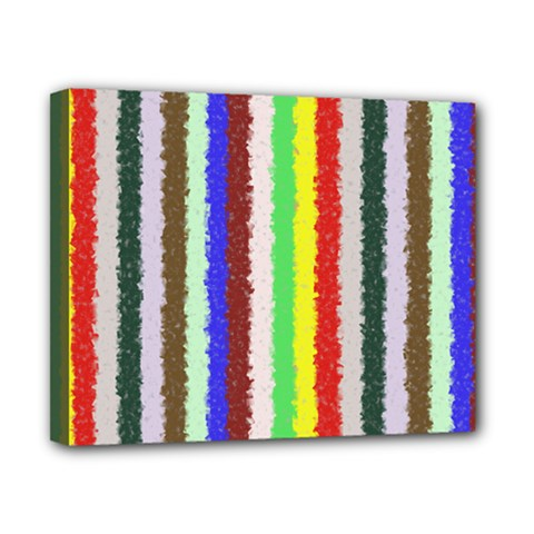 Vivid Colors Curly Stripes - 2 Canvas 10  x 8  (Framed)