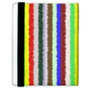 Vivid Colors Curly Stripes - 2 Samsung Galaxy Tab 8.9  P7300 Flip Case View3