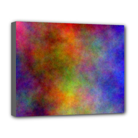 Plasma 9 Deluxe Canvas 20  x 16  (Framed)