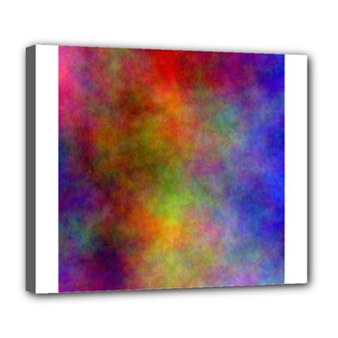Plasma 9 Deluxe Canvas 24  X 20  (framed)